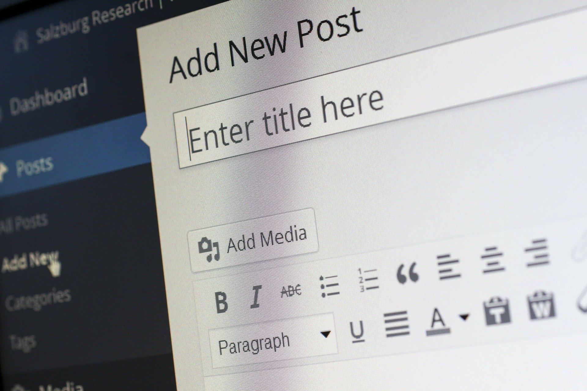 How to write a blog 2