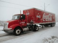 coca-cola holiday commercial truck